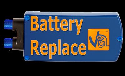 Vigil Battery Replacement