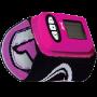 Viso Wristmount Pink Black