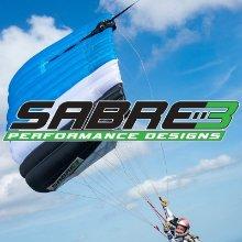 Sabre 3 and logo