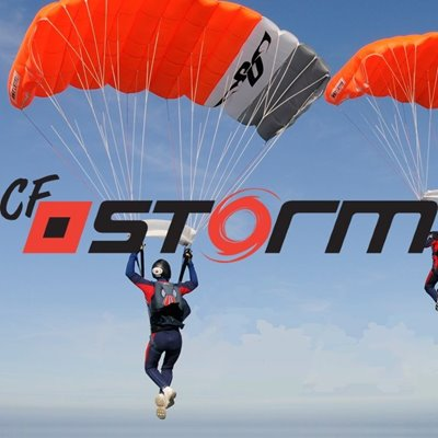 CF Storm and logo
