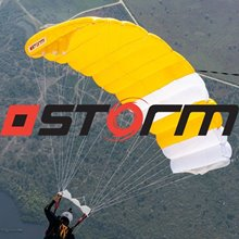 Storm and logo