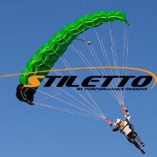 Stiletto and logo